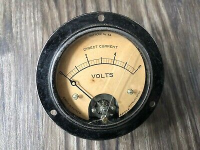 Jewell Electrical Instrument Co. Voltmeter 441934