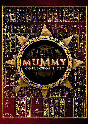 The Mummy Collectors Set (DVD, 2005, 3-Disc Set) free expedited shipping