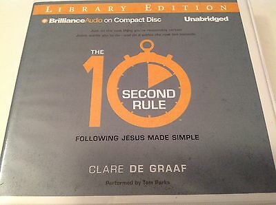 The 10-Second Rule Following Jesus Made Simple CD Audiobook Lib Edition