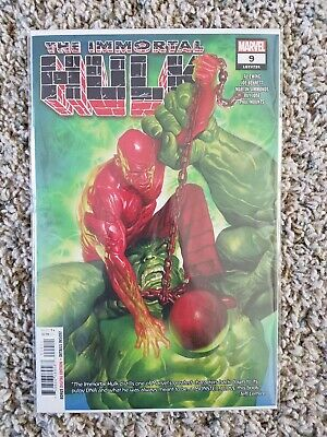 Immortal Hulk #9 **1St Cameo Appr One Below All **nm/nm+**1St Prints💲💲💲