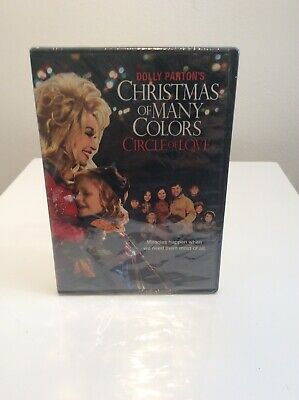 DOLLY PARTON'S Movies CHRISTMAS OF MANY COLORS CIRCLE LOVE New Sealed DVD NEW NO