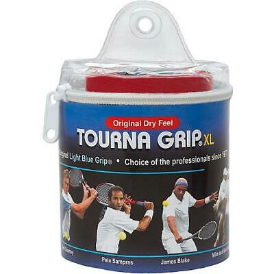 Tourna Grip Original Xl 30 Pack In Tour Travel Pouch Blue Each
