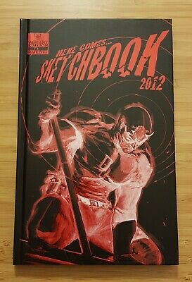 Sketchbook HC _ Gabriele Dell'Otto _Signed & Numbered # 148/500 !  2012 !
