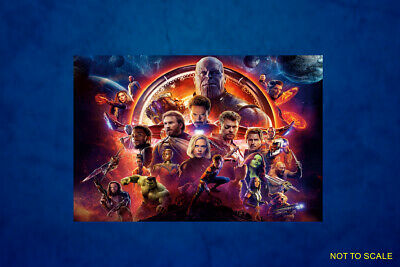 Movie, Canvas Print, Framed, Unframed - Avengers Infinity War 2018