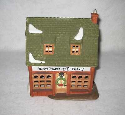 Department 56 Dickens Village White Horse Bakery 1988