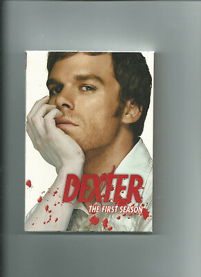 Dexter The First Season VGC Michael C Hall 4 Discs