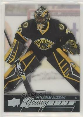 2015 Upper Deck Young Guns Acetate #211 Malcolm Subban Boston Bruins RC Rookie
