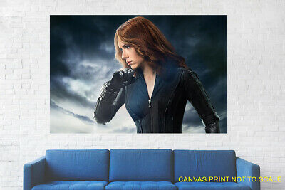 Black Widow Scarlett Johansson Natasha - People , Canvas Print, Framed, Unframed