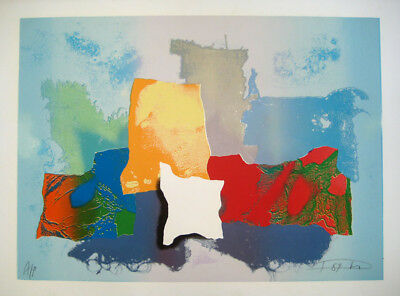 Laszlo Dus - Large color Serigraph Signed A/P dated 1989, Flawless - FREE POSTER