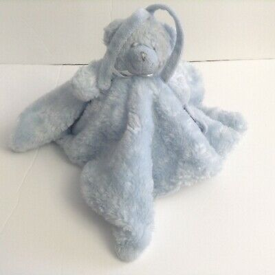 Blankets And Beyond Blue Bear Security Blanket Lovey Pacifier Holder