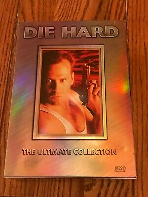Die Hard Collection (DVD, 2006, 6-Disc Set, Ultimate Collection Widescreen)