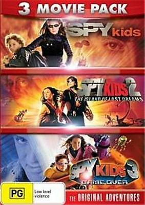 SPY KIDS Trilogy 1 2 3 : NEW DVD