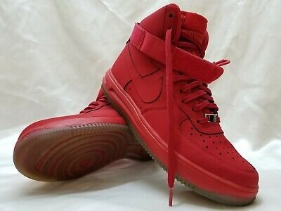 various colors f52a9 28e9f NIKE AIR FORCE 1 High Tops Shoes Sneakers '14 LV8 Gym Red Men's Size 8.5 EUC