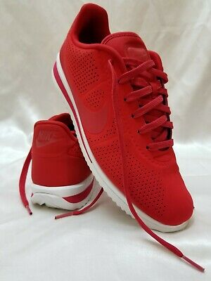 best loved 5abbe 12f9f NIKE CORTEZ ULTRA Moire 845013-601 Men's Running Shoes Red/Wht USA Men's Sz  8.5