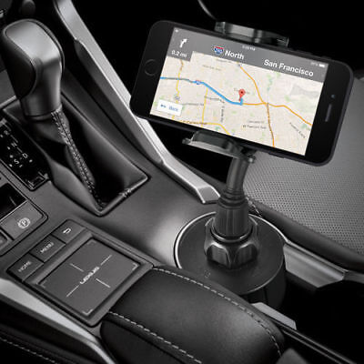New Universal Car Mount Adjustable Cup Holder Stand Cradle For Cell Phone Mobile