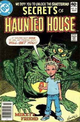 Secrets of Haunted House #26 in Very Fine minus condition. DC comics [*yr]