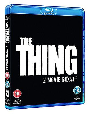 The Thing - 1 + 2 Double Pack (Blu-ray, 2 Discs, Region Free) *NEW/SEALED*