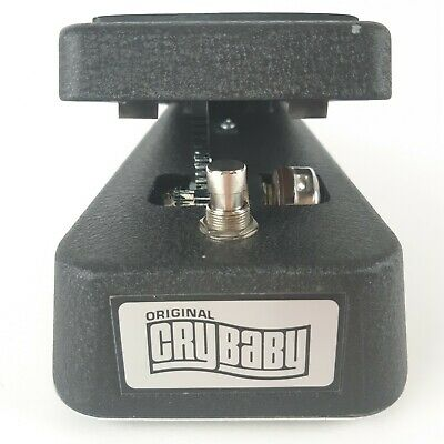 Dunlop Original Cry Baby GCB-95 Wah Pedal Guitar Effects Made in USA