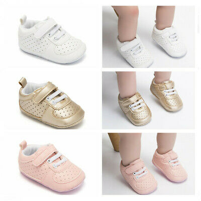 Best Gift Baby Boy Girl Pram Shoes Infant PreWalker Trainers Newborn to 12 Month