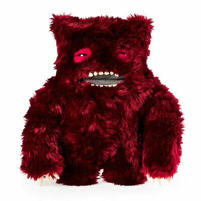 4dd75ca814c7b8 Spin Master FUGGLER Funny Ugly Monster Clawey Furry Red Dark Bear LARGE NEW  12