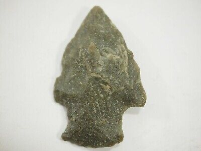 Archaic-Paleo Stone Corner Notch Arrow-Spear Point Ohio Valley Missouri NAA-252