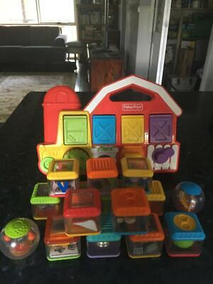 Vintage Fisher Price Peek A Boo Blocks & Activity Centre - 1993 - Hard To Find