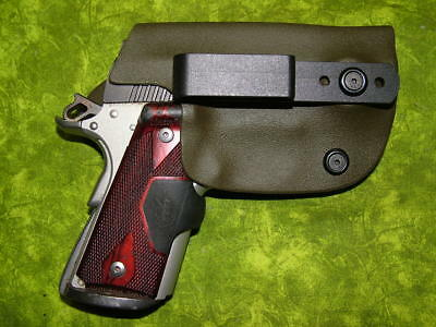 Look!!! Super Nice Left Iwb Od Green Kydex Holster Hand Made Fitted