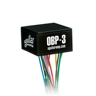 Aguilar OBP-3TK/PP 3 Band Boost/Cut 9 OR 18 Volt On Board Bass Preamp