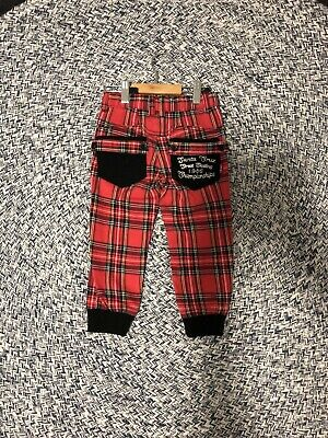 Rock Your Baby size 2 TARTAN pants MINT