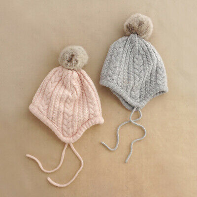cae2329e3cd Cool AU stock Toddler Baby Winter Hat Soft Warm Earflap Beanie Infant Knit  Cute