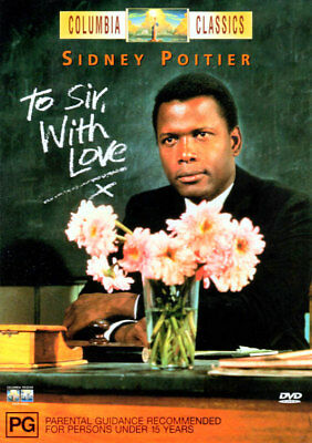 To Sir With Love - Sidney Poitier, Suzy Kendall, Lulu - DVD