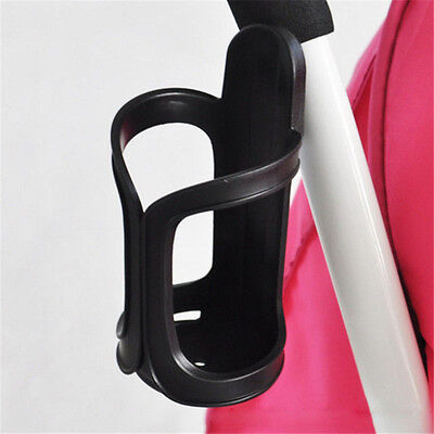 Practical Baby Stroller Milk Bottle Cup Holder Buggy Pram Bike Bottle Rack UK