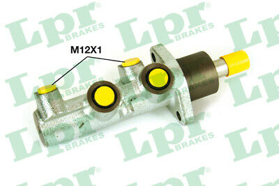 ALFA ROMEO 156 932A1 2.5 Brake Master Cylinder 97 to 03 LPR Quality Replacement