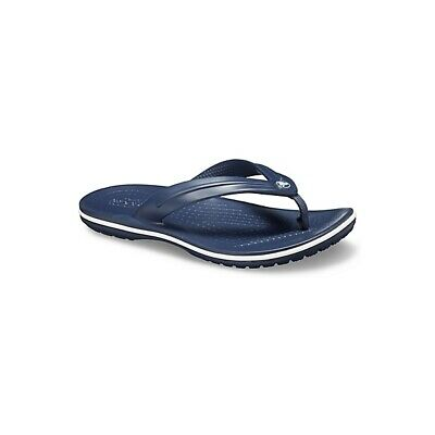 Crocs 205778 CROCBAND FLIP Kids Girls Boys Flip Flops Toe Post Sandals Navy