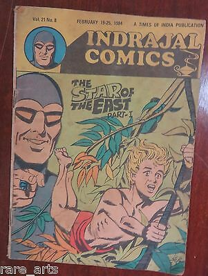 INDRAJAL COMICS VOL 21 NO 8 ENGLISH The Star of the East Part 1-1984