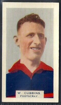 Phillips (Overseas)-Victorian Football Aussie Rules (Bdv Back)-#14- Footscray