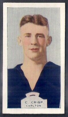 Phillips (Overseas)-Victorian Football Aussie Rules (Bdv Back)-#18- Carlton