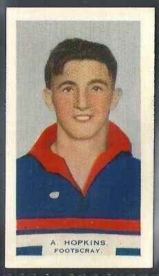 Phillips (Overseas)-Victorian Football Aussie Rules (Bdv Back)-#24- Footscray