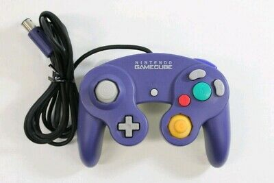 Nintendo Gamecube Controller PURPLE Official + Original DOL-003