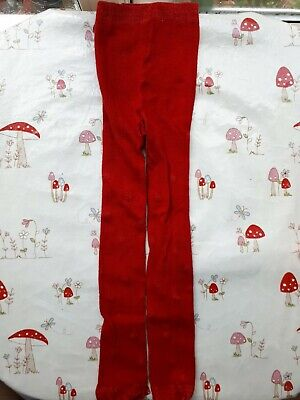 42b5e8bf586 John Lewis 2-3 Years Spotted Red Sparkle Girls Tights Dotty Spots Dots