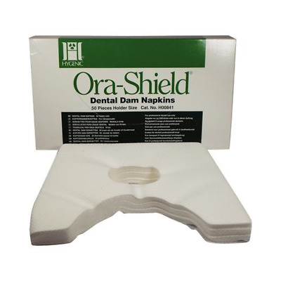 Coltene Whaledent H00841 Hygenic Ora-Shield Rubber Dam Napkins Holder 50/Bx