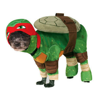 Pet Dog Raphael Costume Rubies Fancy Dress Teenage Mutant Ninja Tutrles TMNT M