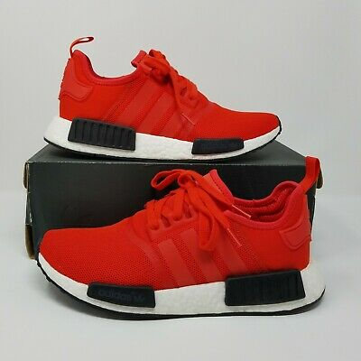 2e6be1a3820b0 ADIDAS ORIGINALS NMD R1 BB1970 Size 9.5 Clear Red Black OG Boost ...