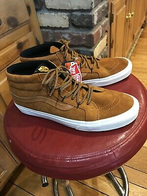 ff08e05421 Mens Vans Sk8 Mid Reissue Mte Suede 11.5 Brand New Sudan Brown Great Price