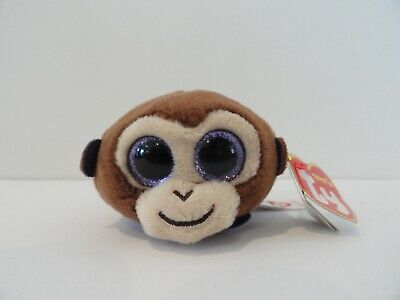 MONKEY BOO the Monkey 4 inch Teeny Tys Stackable Plush TY Beanie Boos MWMT