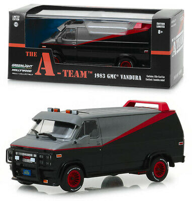 1983 GMC Vandura Transporter The A-Team TV Serie in 1:43 GreenLight 86515