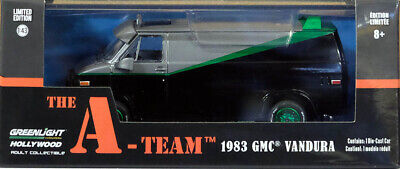 1983 GMC Vandura The A-Team TV Serie GREEN MACHINE 1:43 GreenLight 86515
