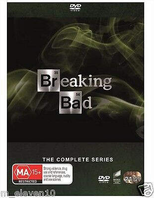 BREAKING BAD The Complete Series : Seasons 1 2 3 4 5 6 : NEW DVD