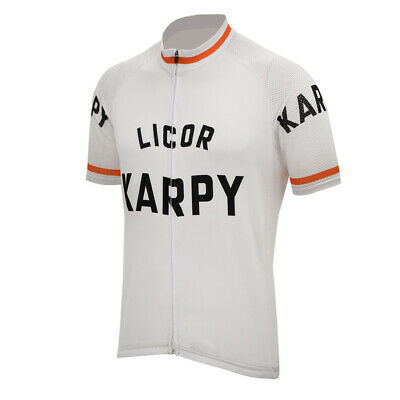 5bb1fa0f05e LICOR KARPY Cycling Jersey Retro Road Pro Clothing MTB Short Sleeve Bike  Racing