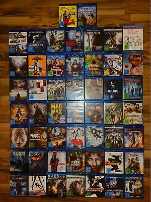 diverse Bluray Filme (z.B. Transporter, Transformers, Marvel, Hobbit,Mad Max...)